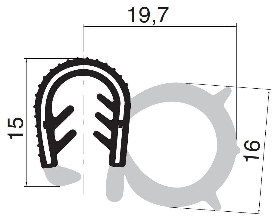 Dichtungsprofile - Gummidichtung - Co-Ex-Profile